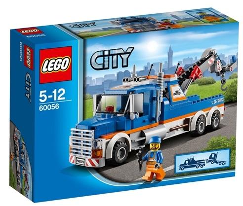 Lego bärgningsbil och verkstad